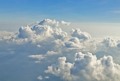 Clouds in the blue sky.  Royalty Free Stock Photography
