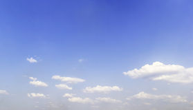 Clouds in the blue sky.  Royalty Free Stock Photos