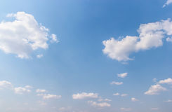 Clouds in the blue sky Stock Photos