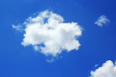 Clouds on the blue sky. Stock Image