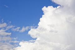Clouds blue sky Royalty Free Stock Photography