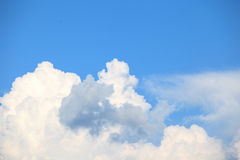 Clouds in blue sky Stock Image