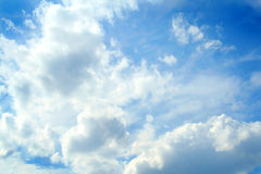 Clouds on blue sky Stock Photos