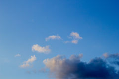 Clouds in the blue sky Royalty Free Stock Photo