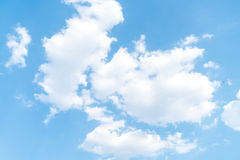 Clouds with blue sky. Clouds in the blue sky Royalty Free Stock Image