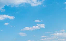 Clouds with blue sky. Clouds in the blue sky Stock Photo