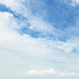 Clouds and blue sky. Clouds against the blue sky Stock Photography