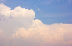 Clouds and blue sky. Stock Image
