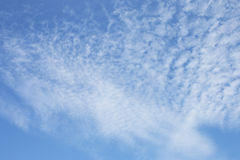 Clouds with blue sky. Royalty Free Stock Photography
