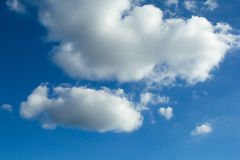Clouds in blue sky background. Abstract clouds in blue sky background Royalty Free Stock Image