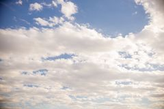 Clouds and blue sky background. Blue sky background with tiny clouds, Clouds and blue sky background, flying plane stock photos