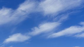Clouds and Blue Sky Background. Design Pattern and Textures.  stock image