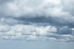 Clouds sky background royalty free stock images