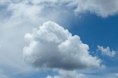 Clouds sky background royalty free stock image