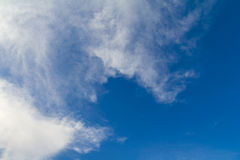 Clouds blue sky Royalty Free Stock Images