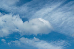 Clouds on the blue sky. Beautiful of Clouds on the blue sky Royalty Free Stock Photo
