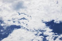 Clouds with beautiful at daytime. Clouds and blue sky with beautiful in the daytime Stock Photo