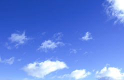 Clouds on a blue sky Royalty Free Stock Image