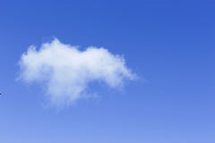 Clouds on a blue sky Stock Images