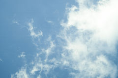 Clouds and blue sky. Blackground,texture Royalty Free Stock Photos