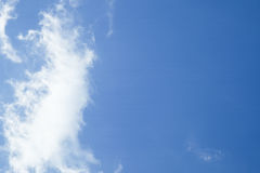 Clouds and blue sky. Blackground,texture Stock Images