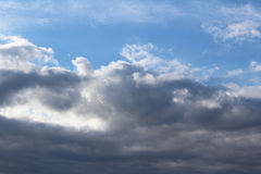 Clouds and blue sky Stock Photo