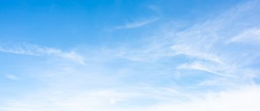 Clouds on a blue sky. As background royalty free stock images