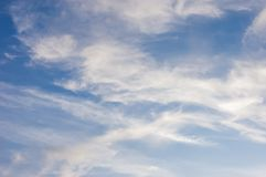 Clouds in the blue sky Stock Photography