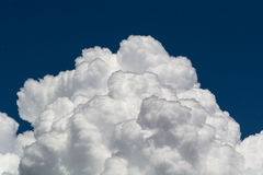 Clouds and blue sky. royalty free stock photography