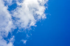 Clouds with blue sky , natural texture.  Stock Photos