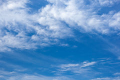 Clouds with blue sky , natural texture.  Royalty Free Stock Photo
