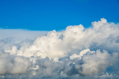 Clouds with blue sky, natural texture.  Stock Photos