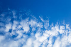 Clouds, blue sky Royalty Free Stock Photography