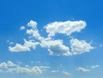 Clouds in the blue sky 1 Royalty Free Stock Photography