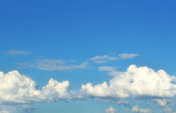 Clouds on blue sky Royalty Free Stock Photo