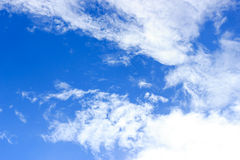 Clouds on the blue sky Royalty Free Stock Photography