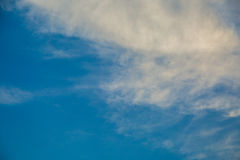 Clouds and blue sky. Photo of clouds and blue sky for composite and design work Stock Photography