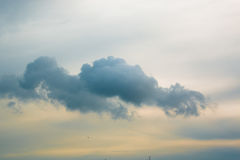 Clouds and blue sky. Photo of clouds and blue sky for composite and design work Royalty Free Stock Photos