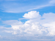 Clouds in blue sky Stock Images
