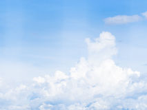 CLouds in blue sky Stock Photography