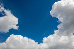 Clouds on a blue sky Stock Photo