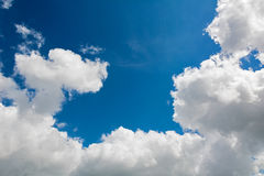 Clouds on a blue sky Stock Photography