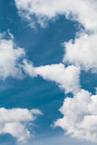 Clouds on a blue sky Royalty Free Stock Photo