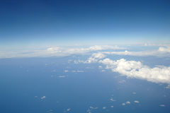 Clouds and blue sky . Royalty Free Stock Photo