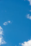 Clouds in blue sky Royalty Free Stock Image