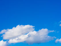 Clouds and blue sky on a sunny day Stock Images