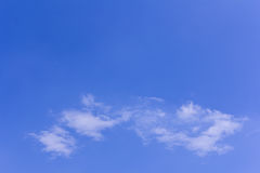 Clouds with blue sky texture and background. Blue sky with tiny clouds Royalty Free Stock Photo