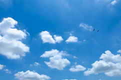 Clouds with blue sky Stock Image