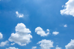 Clouds with blue sky Royalty Free Stock Photography
