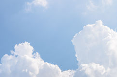Clouds in the blue sky. Use as background Stock Photo
